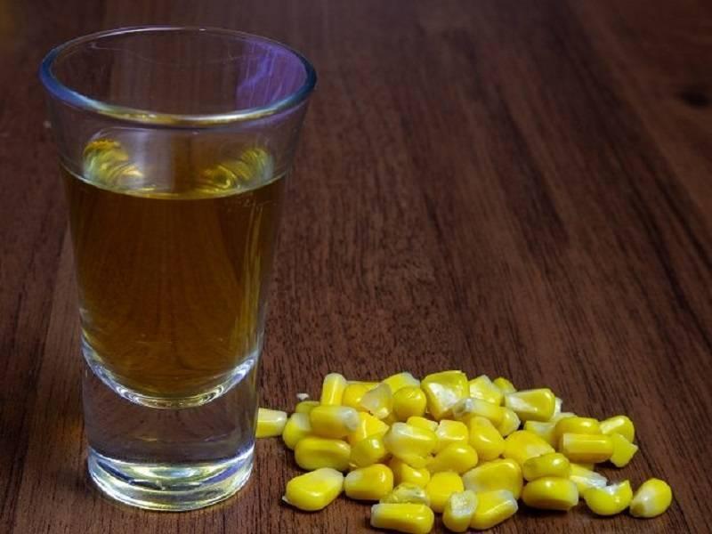 Самогон на кукурузе