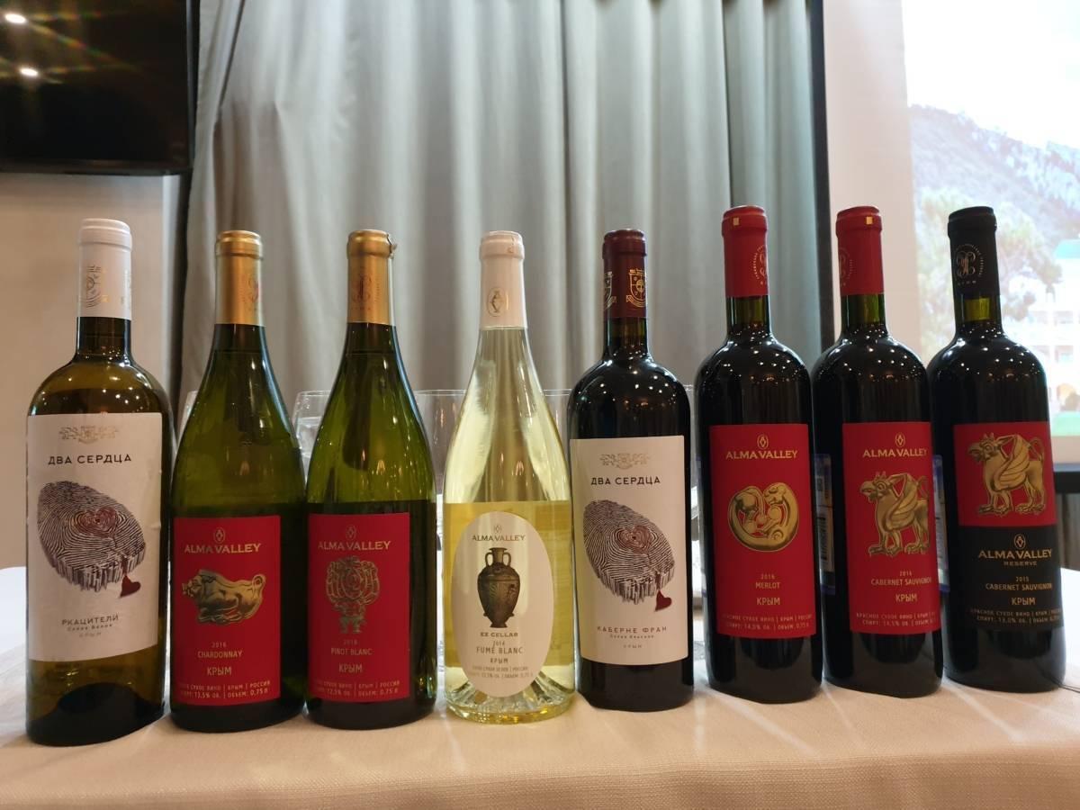 Обзор марок и видов крымских вин