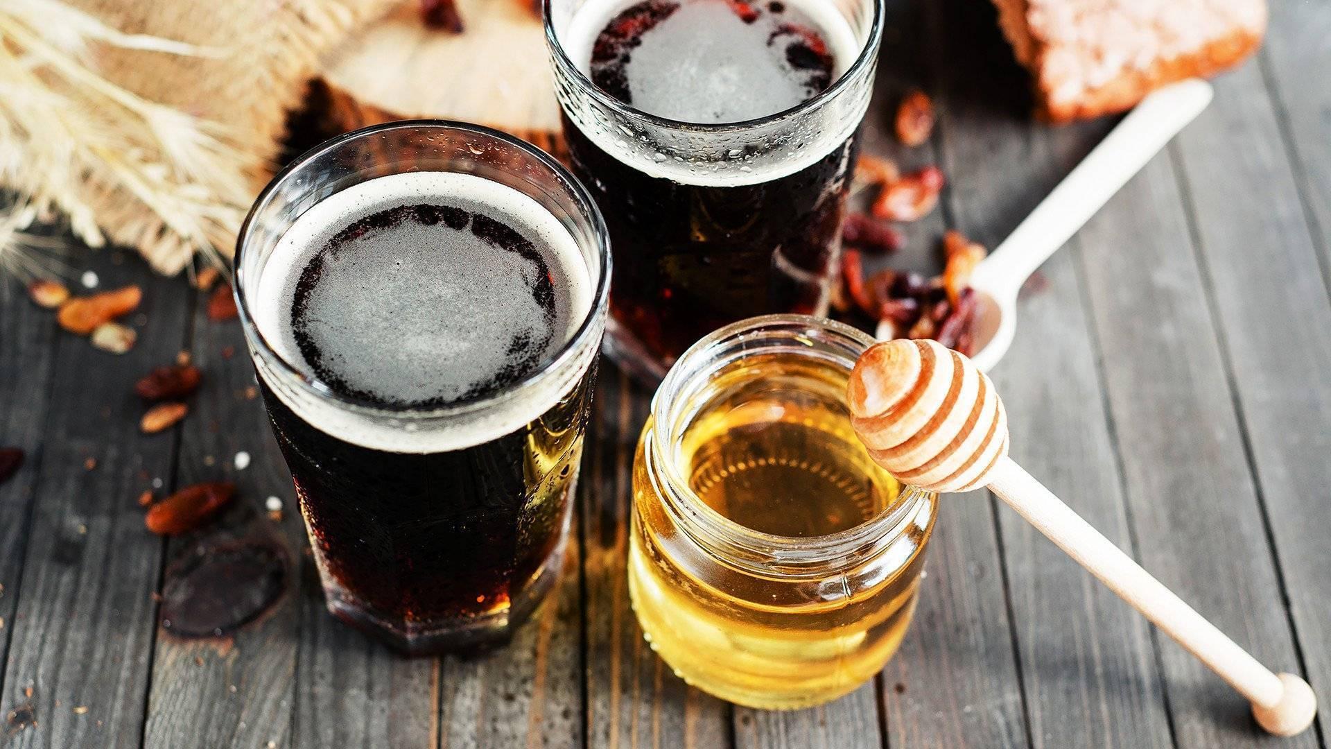Горячее пиво от кашля: как приготовить с медом, шиповником и лимоном