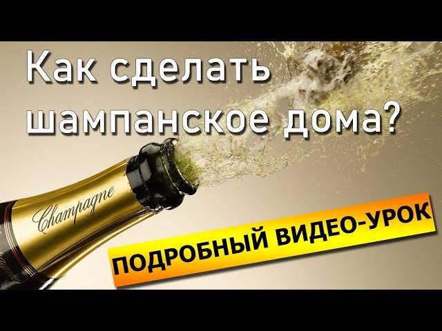 Как приготовить шампанское в домашних условиях? (6 фото)