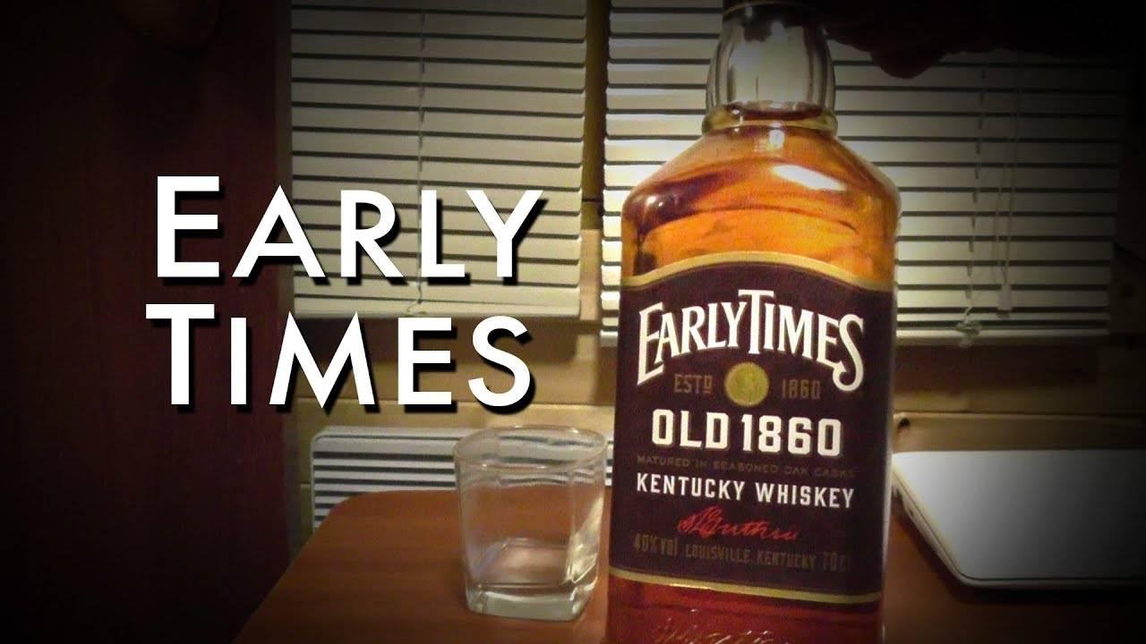 Виски ирли таймс олд 1860 не менее 3 лет зерновой или виски (бурбон) мэйкерс марк не менее 4 лет зерновой — что лучше