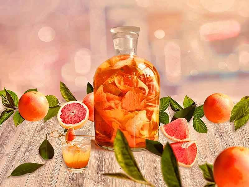 Настойка на грейпфруте: на водке или спирту