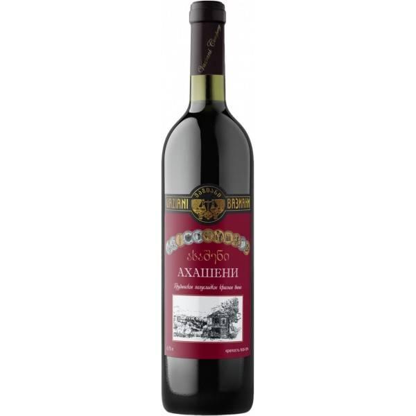 Обзор вина Ахашени