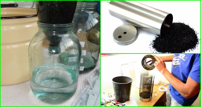 Очистка самогона углём: как очистить активированным, правильное углевание