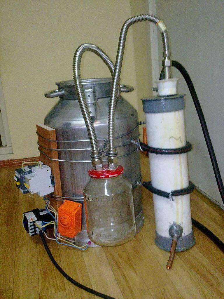 Самодельный самогонный аппарат из скороварки