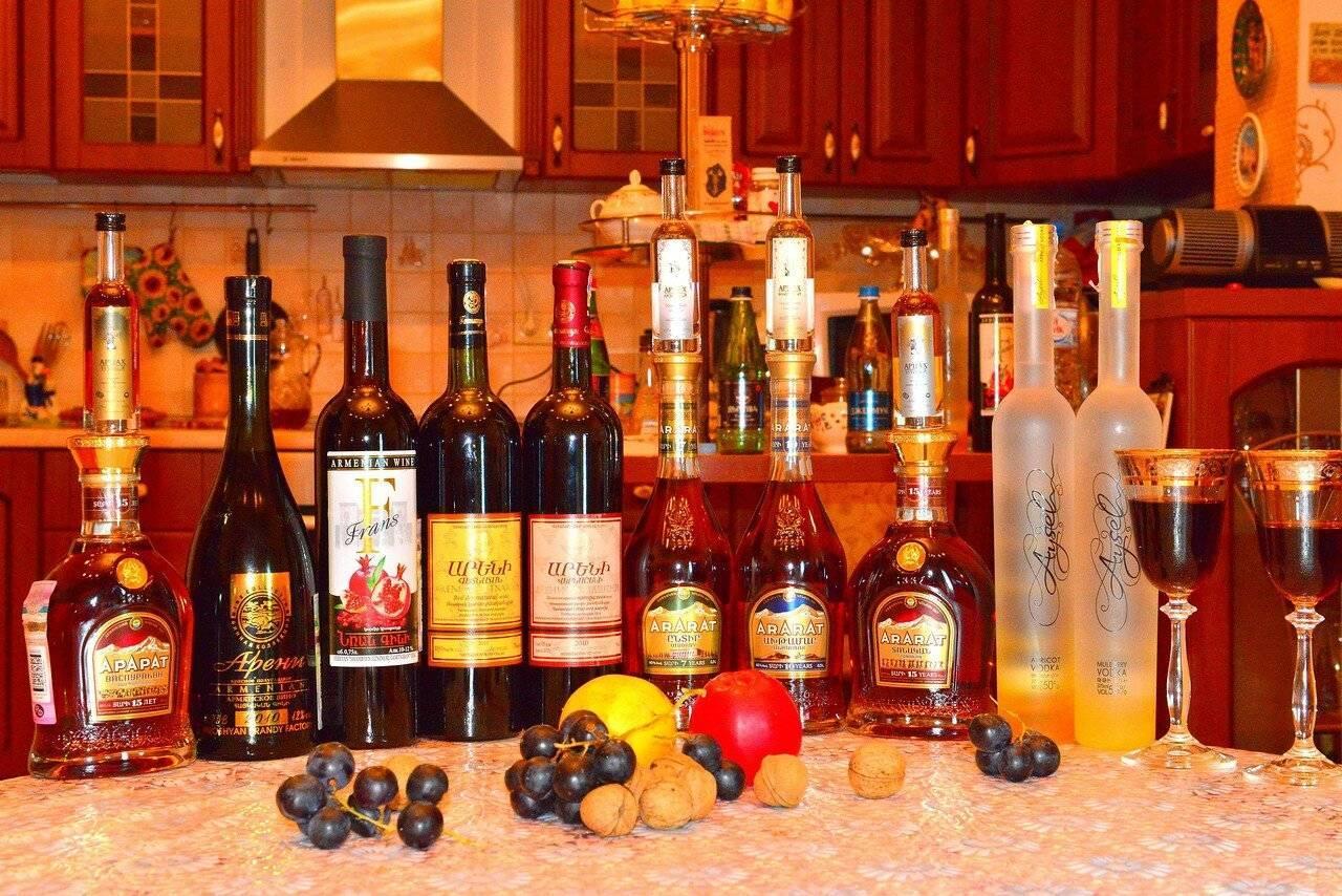 Лучшие вина армении