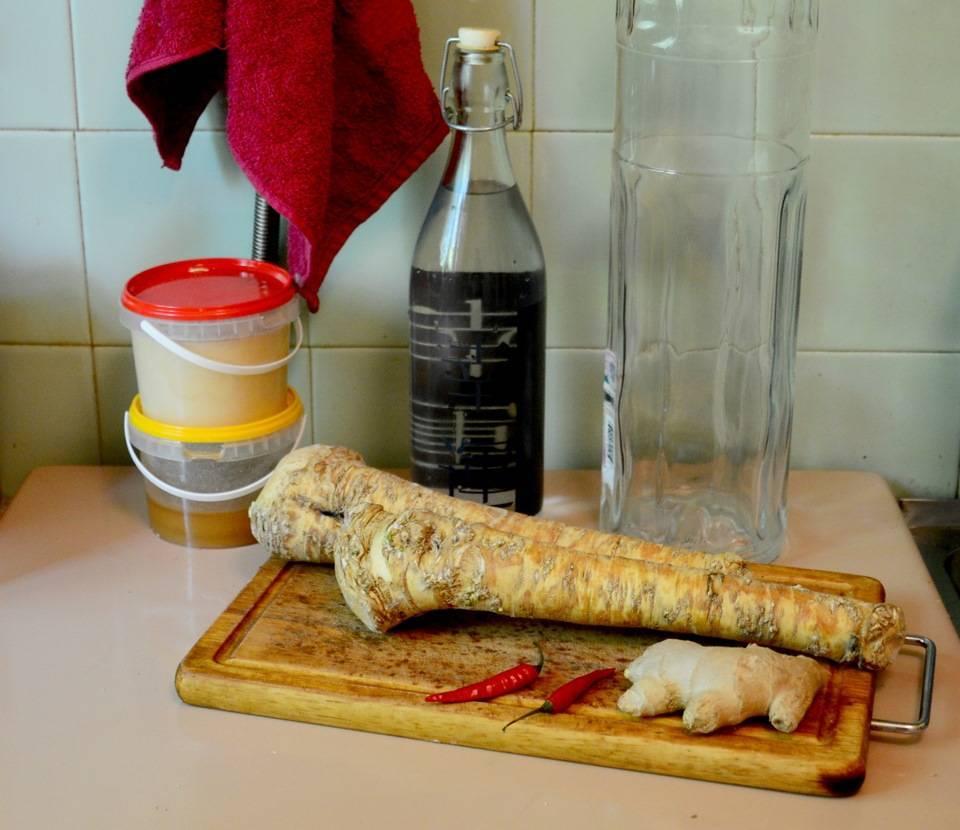 Рецепт хреновухи в домашних условиях