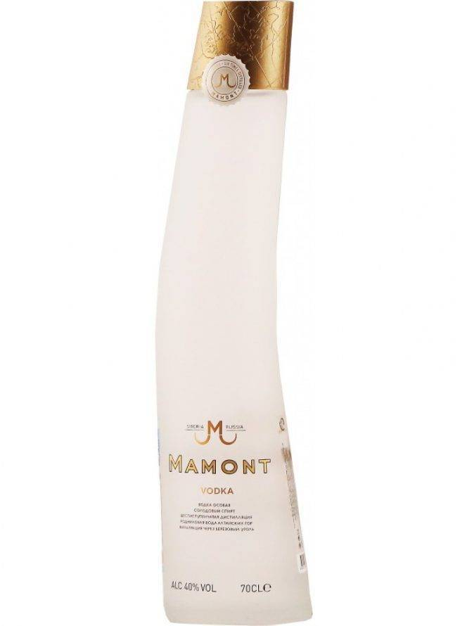 Обзор водки Мамонт