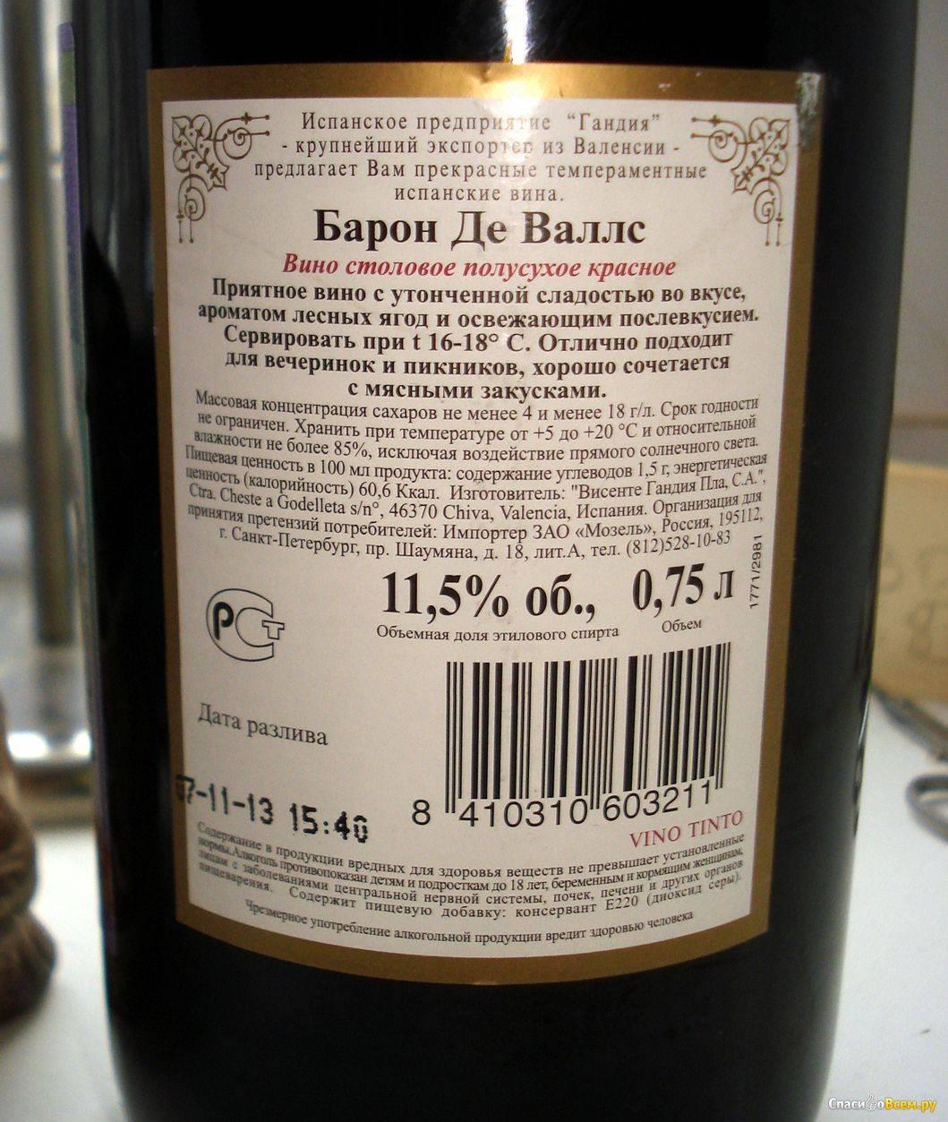 Вино: основные термины иопределения