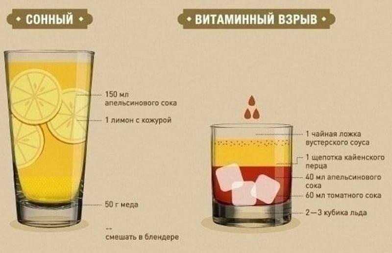 Томатный сок от похмелья