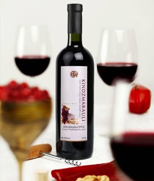 Представляем грузинские вина