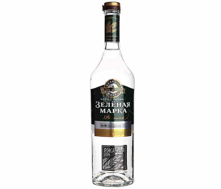 Водка зеленая марка: обзор + как отличить подделку? – как правильно пить