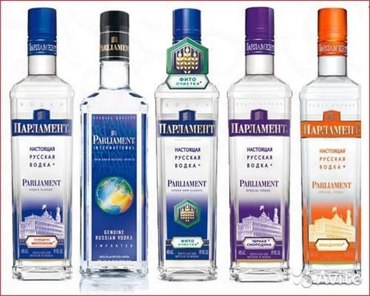Водка (vodka) / typobar.ru