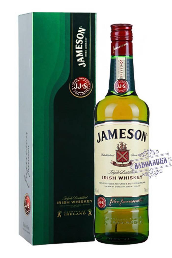 Виски jameson (джемисон) и его особенности