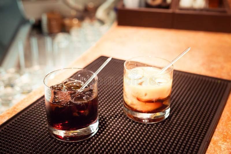 Черный русский коктейль — состав и рецепт