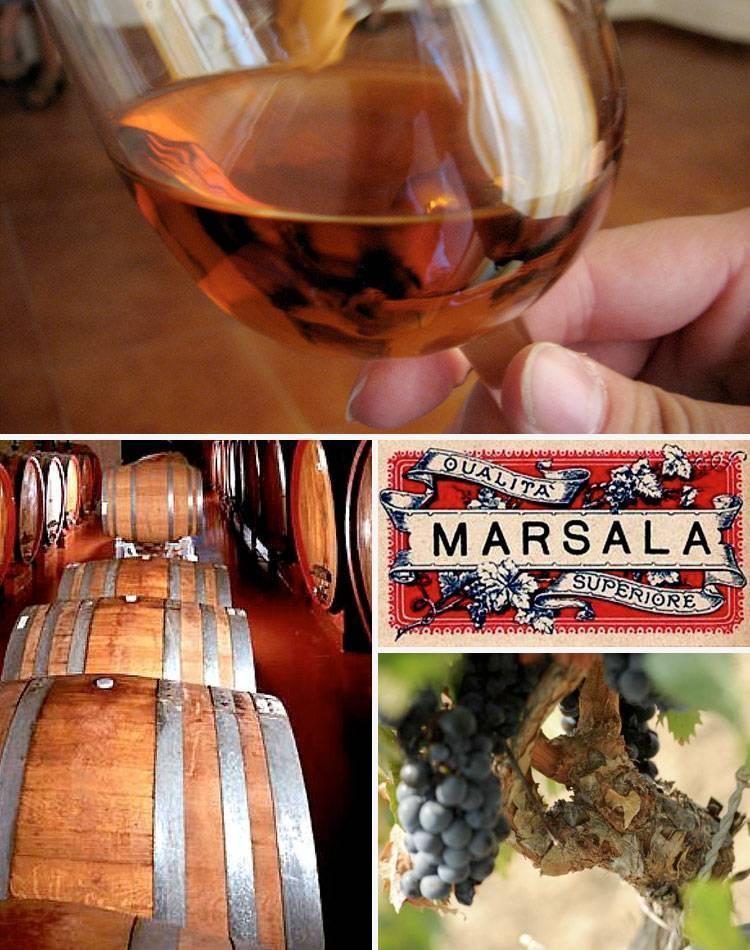 Марсала — креплёные вина