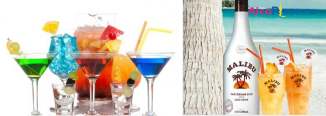 Советы и рецепты с чем и как пьют ликер малибу