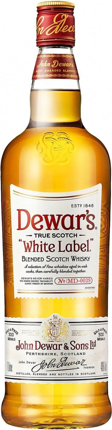 Особенности виски дюарс (dewar's)