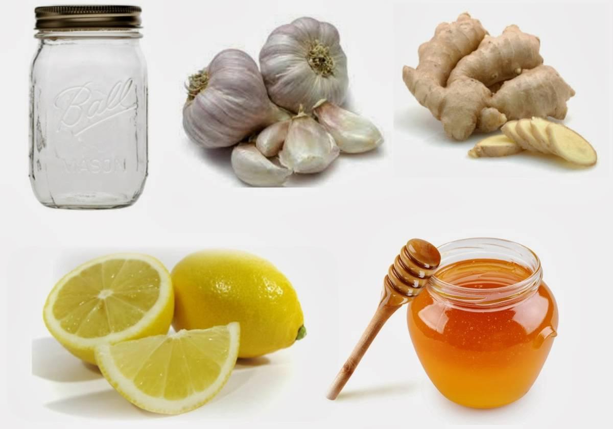 Мед, лимон, чеснок и вся польза этой троицы