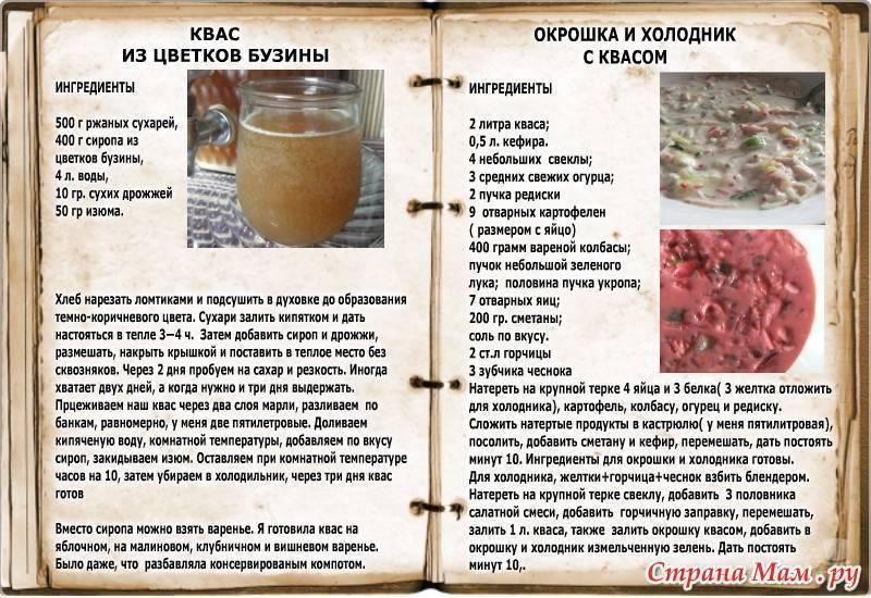 Квас в домашних условиях на поварёнок.ру