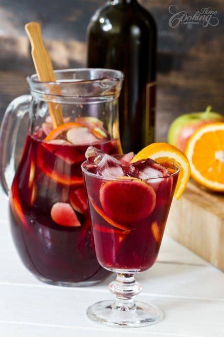 Какие коктейли с вином можно приготовить в домашних условиях