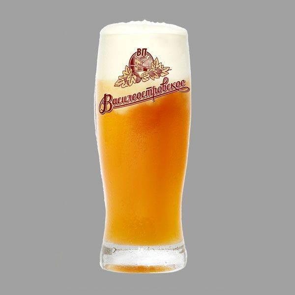 Пиво василеостровское (vasileostrovskoe) — особенности крафтового напитка