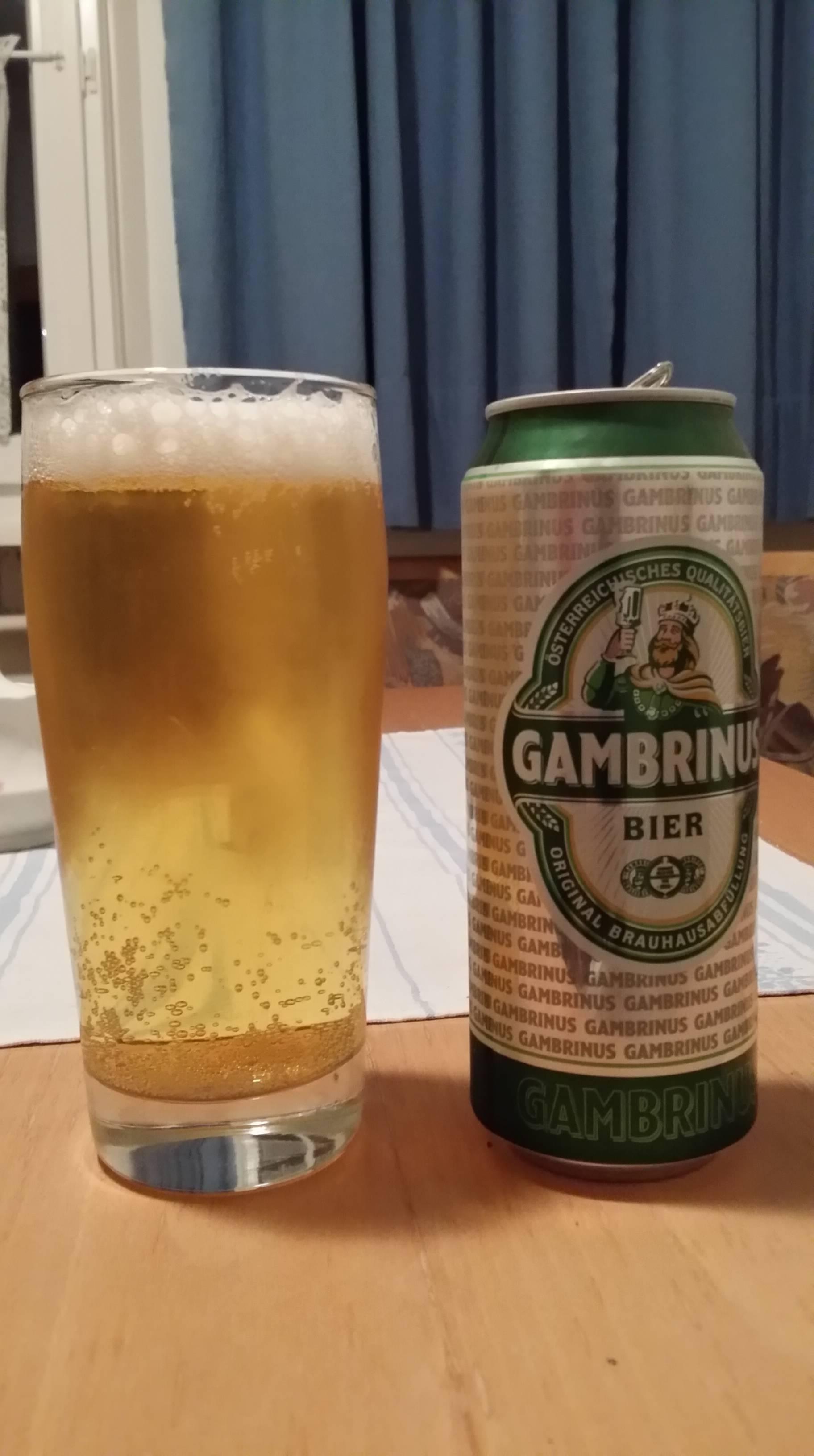 Пиво гамбринус (gambrinus) — технология производства, вкусовые качества напитка