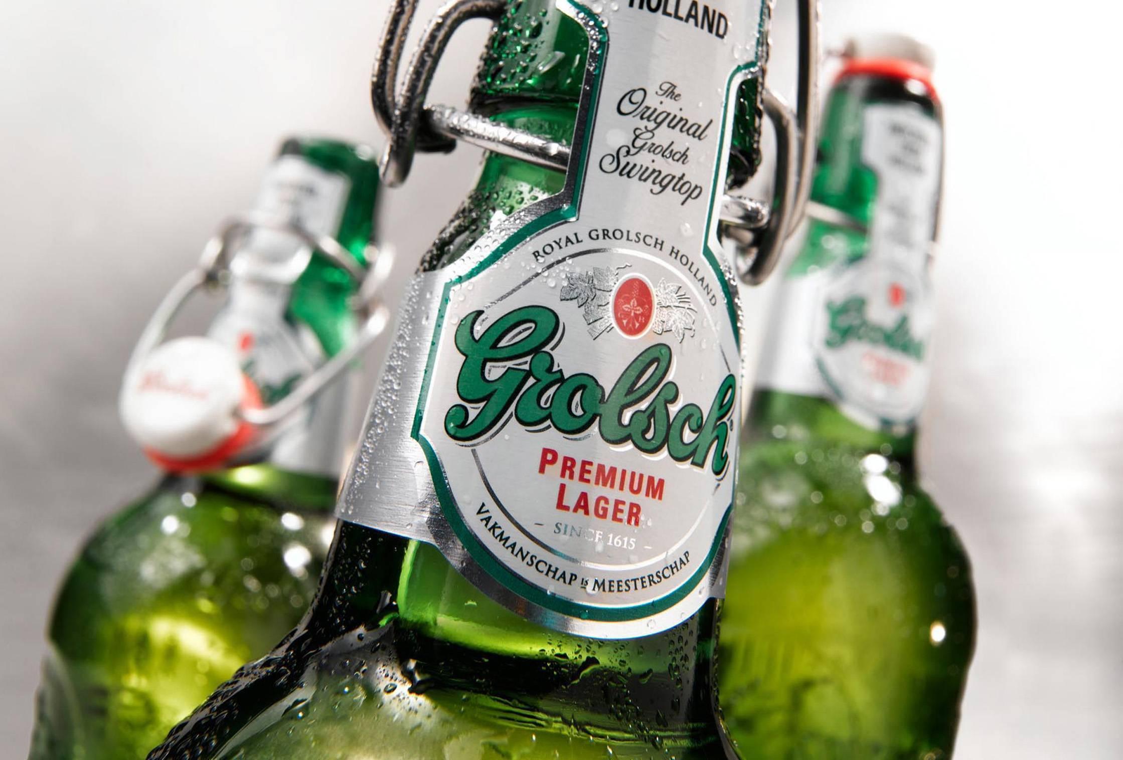 Пиво grolsch (гролш) — история и самые известные виды