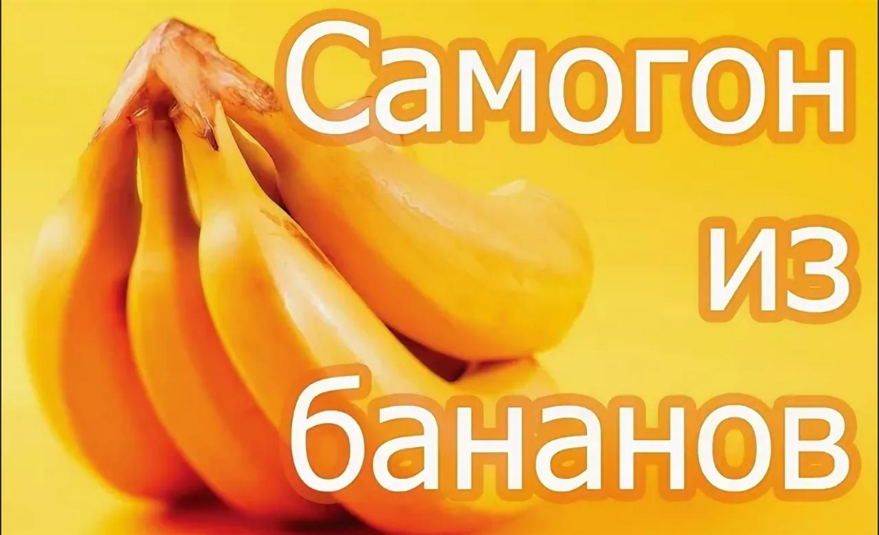 Самогон из бананов - тонкости выбора плодов и рецепт браги