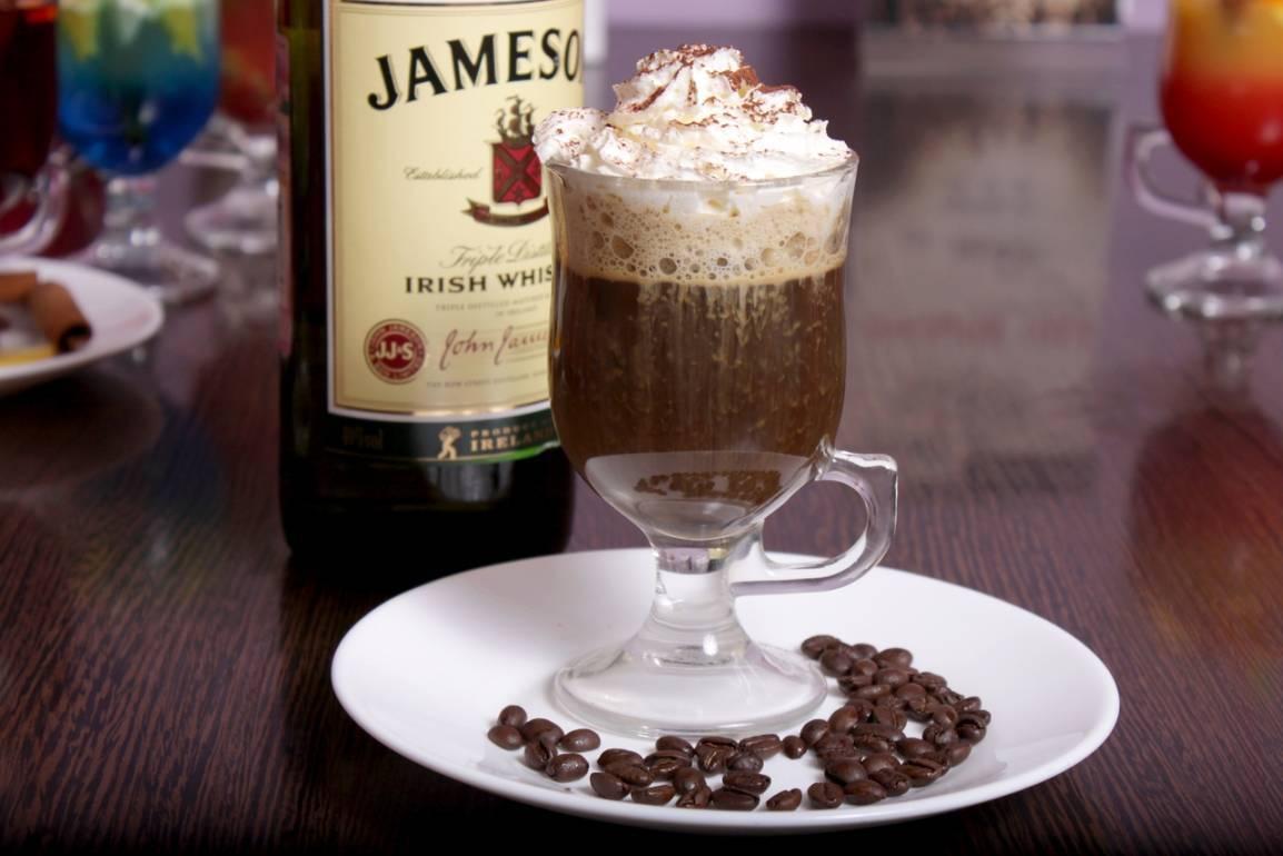 Рецепты приготовления коктейля Ирландский кофе