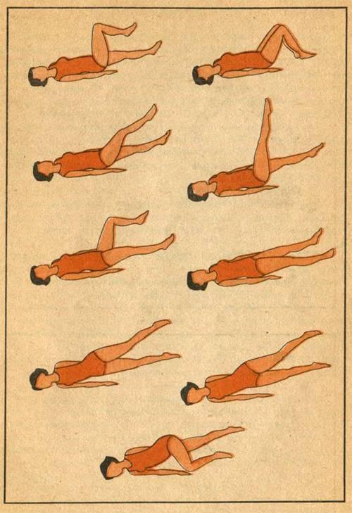 Примерный комплекс упражнений при пиелонефрите