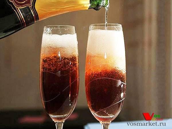 Новогодние рецепты: коктейли с шампанским на поварёнок.ру