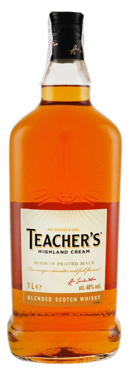 Виски «тичерс хайланд крим» (teacher's highland cream) купажированный 0,7л крепость 40%