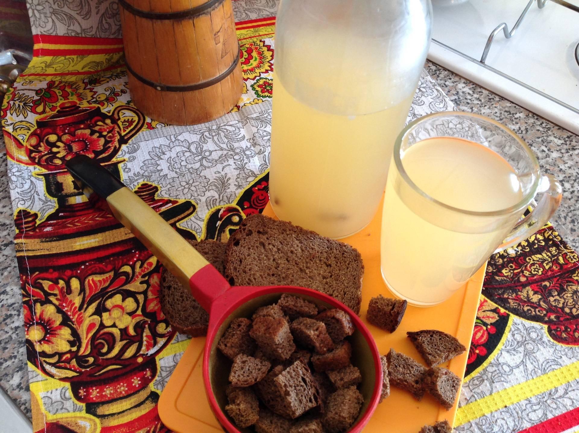 Квас деревенский на ржаной муке – кулинарный рецепт