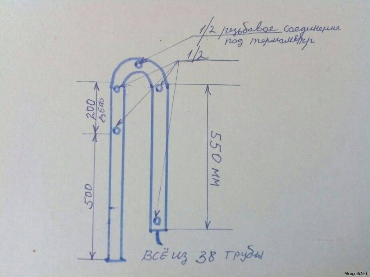 Подготовка бражной и ректификационной колонны к первому запуску