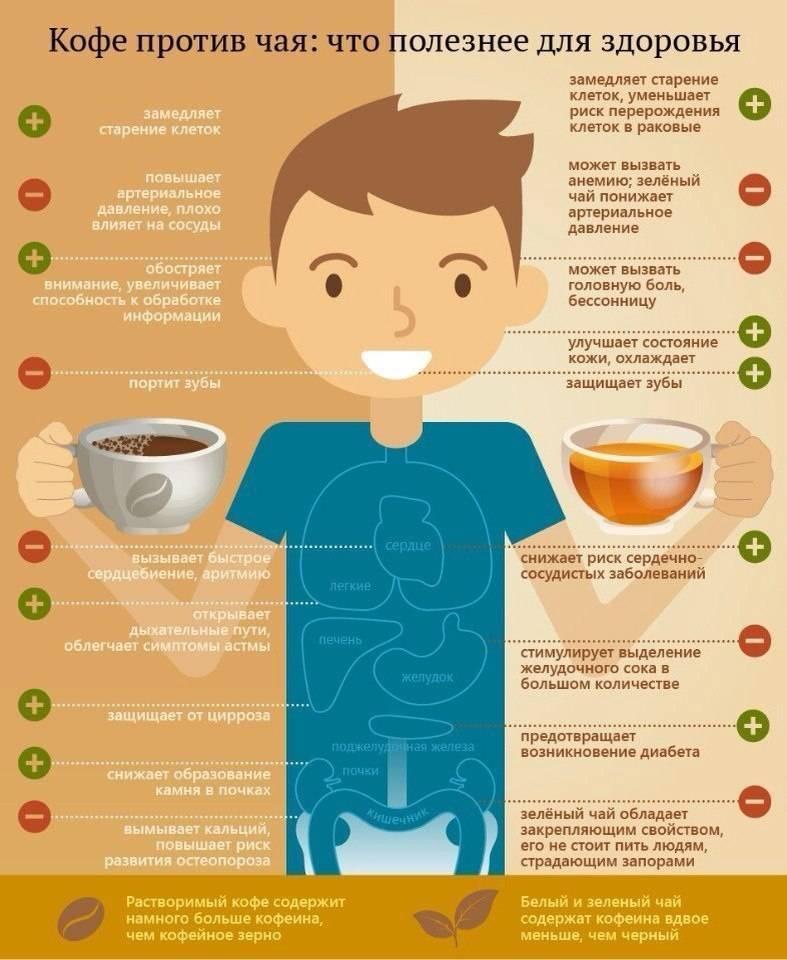 Как кофе влияет на печень?