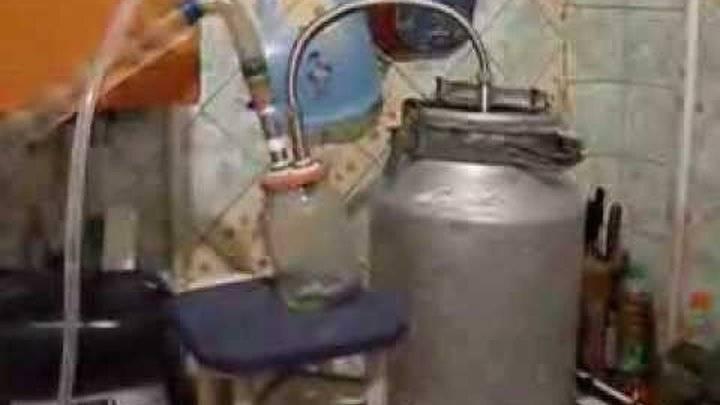 Изготовление самогонного аппарата из фляги для молока на 40 или 25 литров своими руками   про самогон и другие напитки ?   яндекс дзен