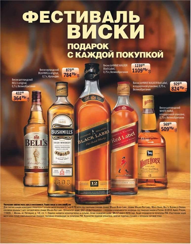 Виски в подарок. как выбрать?