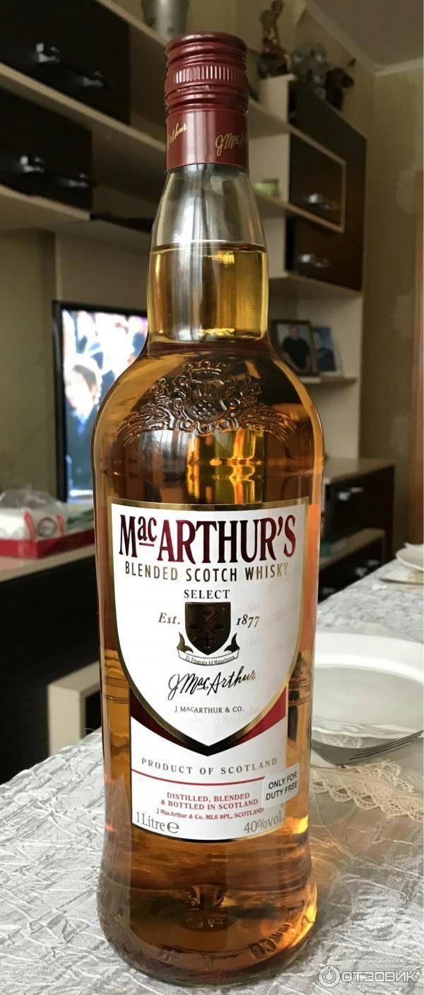 Виски macarthur's (макартур) и его особенности