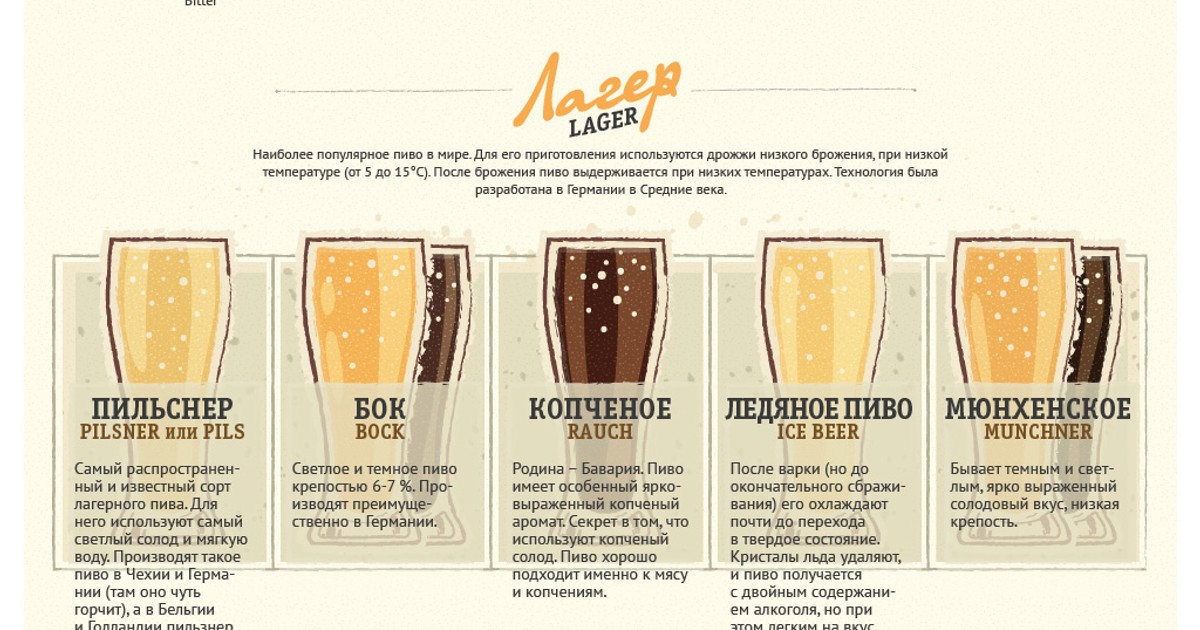 Отличие пива от пивного напитка