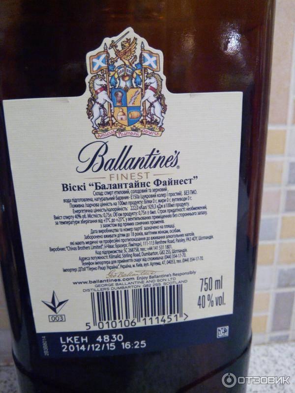 Срок годности виски в закрытой бутылке