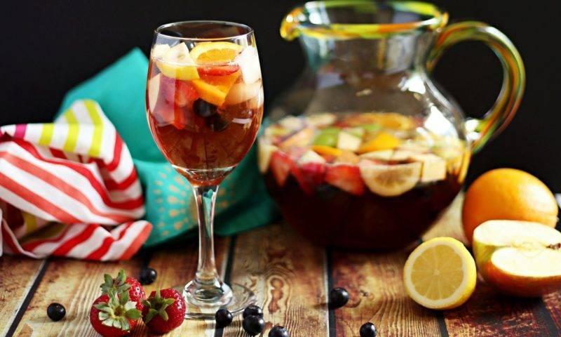 Безалкогольные рецепты пунша на любой вкус