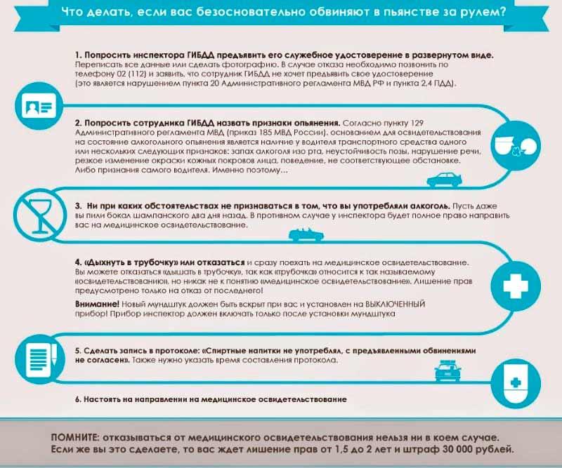 Отказ от медосвидетельствования: панацея или ошибка? меры ответственности за правонарушение