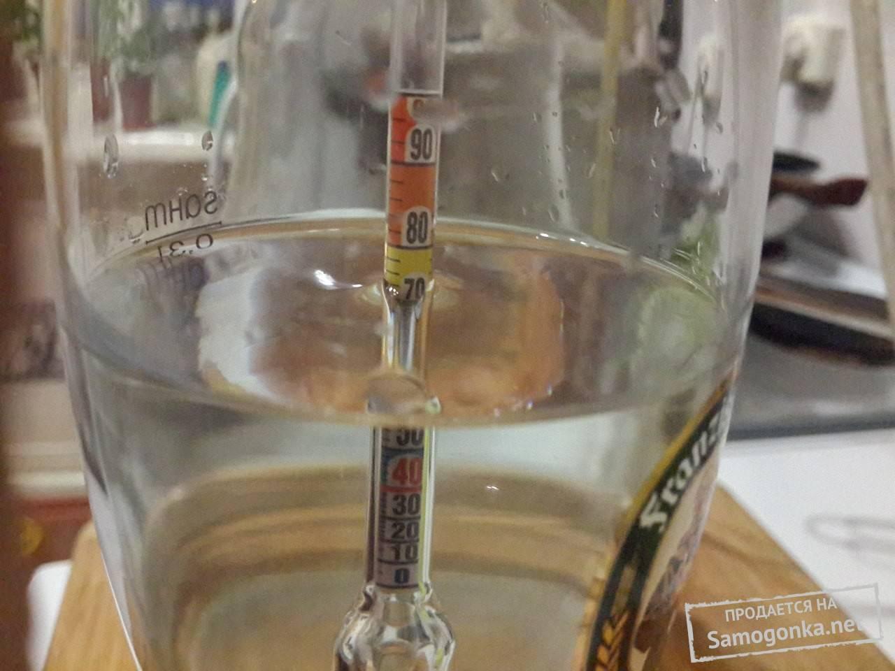 Как определить крепость самогона без спиртометра?