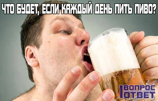 Что произойдет если бросить пить пиво