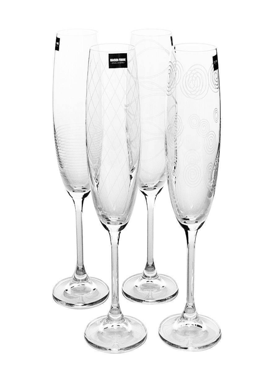 Как выбрать бокалы для шампанского, чтобы не выглядеть «по-деревенски»