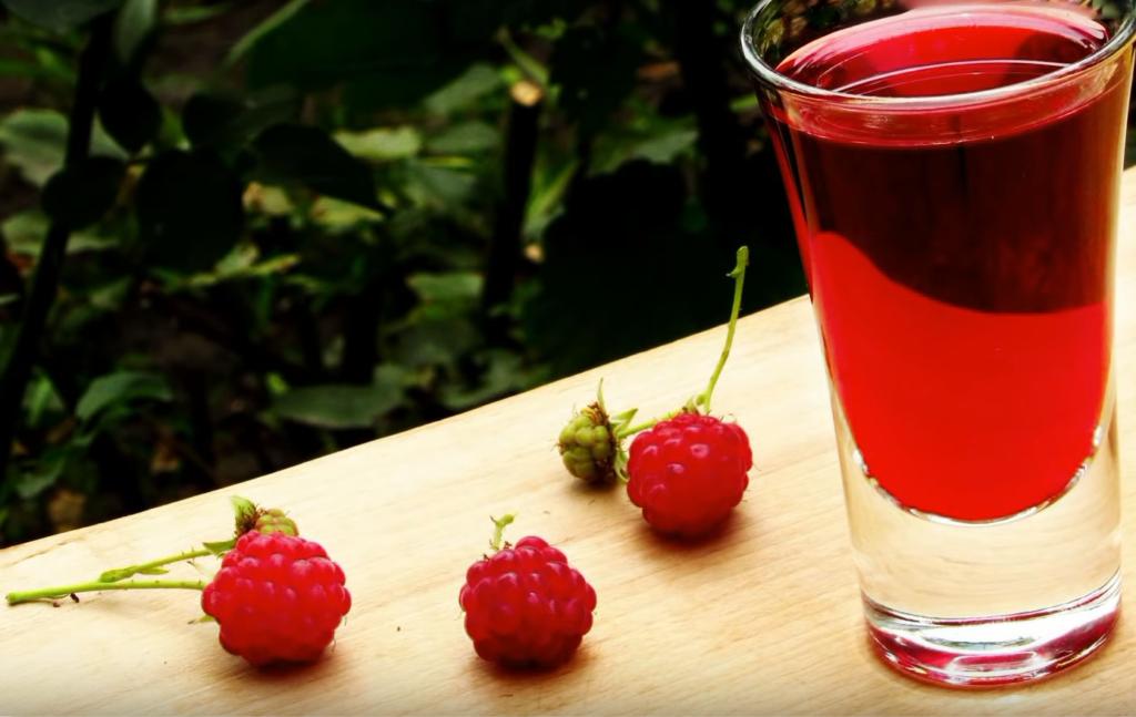 Настойка из малины на водке рецепт на 3-х литровую банку