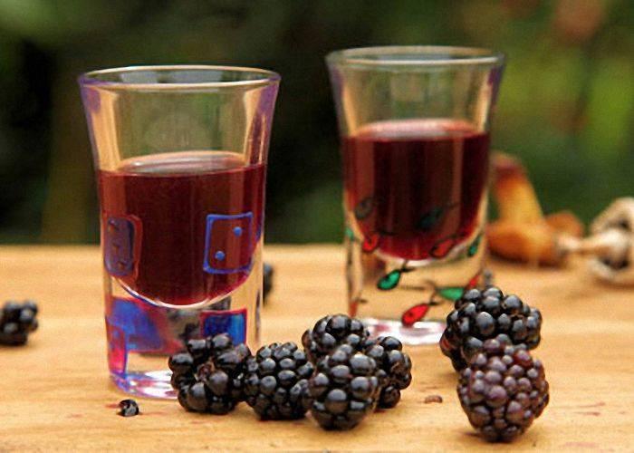 Вино из ежевики в домашних условиях - пошаговый рецепт