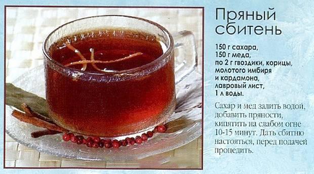 Сбитень - рецепт приготовления в домашних условиях