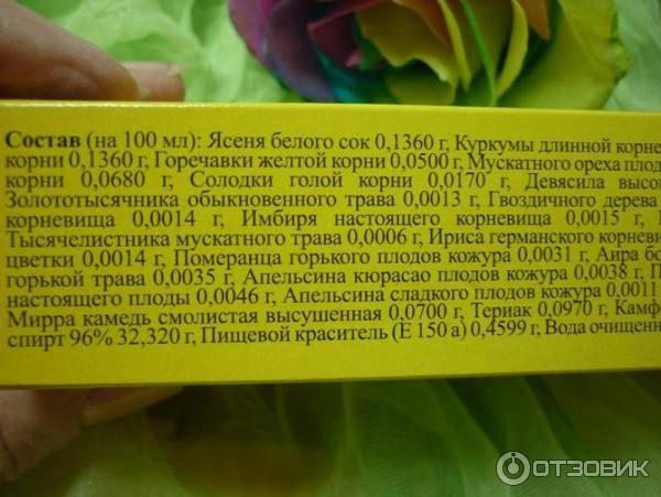 Лекарство биттнера бальзам - инструкция по применению, отзывы
